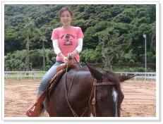 乗馬体験③